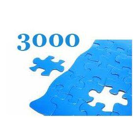 3000 darabos