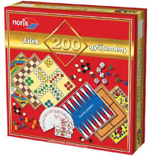 Játékgyűjtemény 200 db-os - Noris