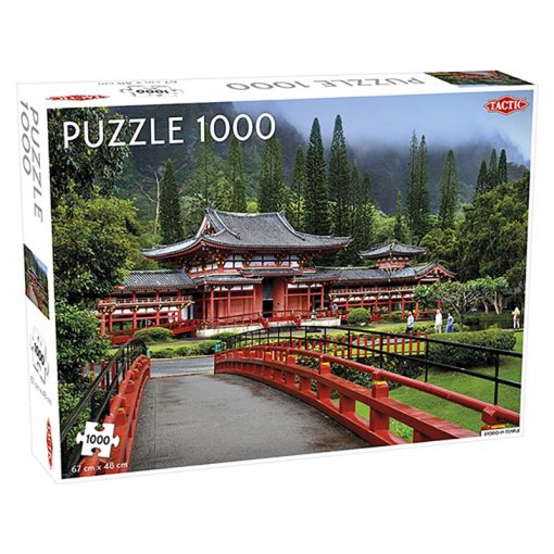 Byodo In templom 1000 db-os puzzle - Tactic - 55238