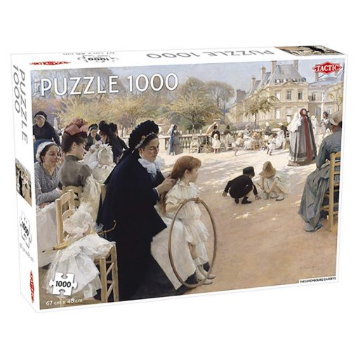 Luxembourg Gardens 1000 db-os puzzle - Tactic - 55248