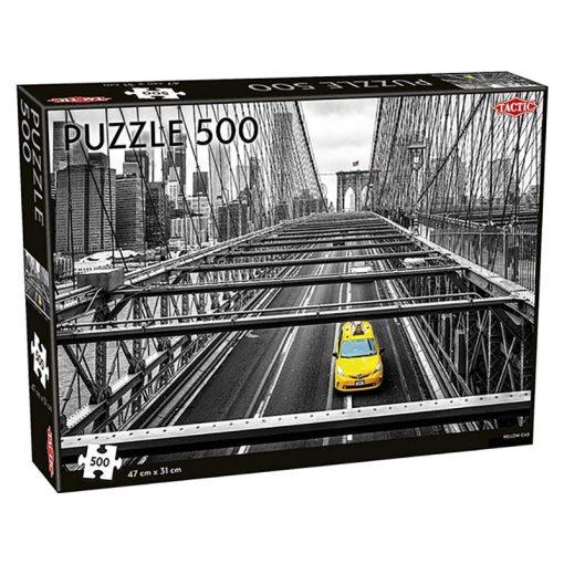 Sárga taxi 500 db-os puzzle - Tactic - 55257